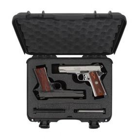 NANUK 910 Classic 2 Up Pistol Case